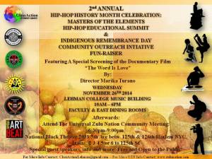 2nd Annual Hip-Hop History Month Celebration